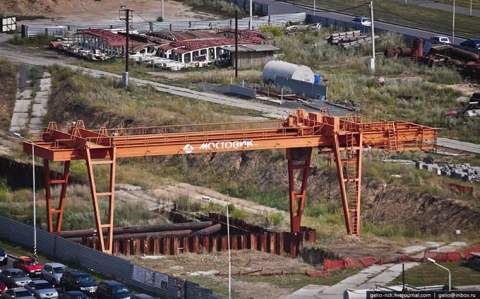 В Омске, вложив 14 млрд. рублей, заморозили строительство метро