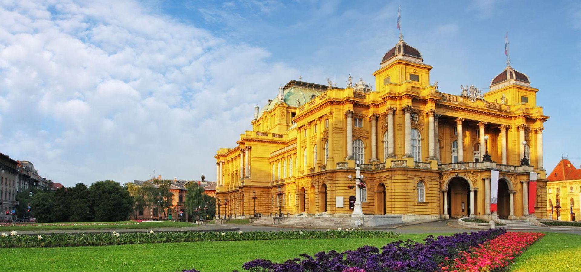 Историческая часть столицы Хорватии