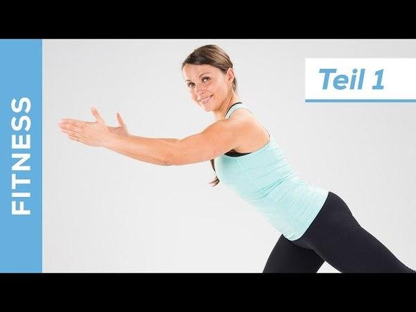 Optimaler Fitness Fatburner BBP für Anfänger (12) - Abnehmen für zuhause - Fit mit Anna - HD