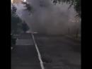 Загорелся автомобиль на пресечении улиц 50 лет ВЛКСМ и Тухачевского Регион 26