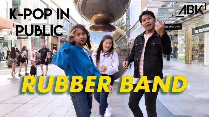 KPOP IN PUBLIC CHALLENGE iKON RUBBER BAND 고무줄다리기 Dance Cover by A B K from Australia