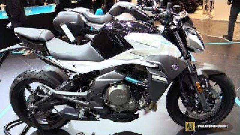 2018 Cfmoto 650 NK - Walkaround - 2017 EICMA Milan Motorcycle Exhibition