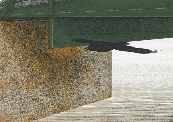 Канадский художник Алекс Колвилл, Alex Colville (1920 2013) Картины художника ближе к американскому прециссионизму 1930-х годов, чем к фото-реализму. Его совершенные композиции основаны на