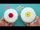 CROCHET TUTORIAL Flor Tejida 3D en Forma de Yo-yo | flor yoyo a crochet 3d