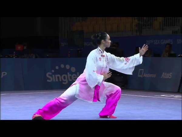 28th SEA Games 2015 Taiji Quan Lindswell Kwok