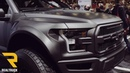 2017 Ford Raptor Wide Body Matte Black SEMA 2016