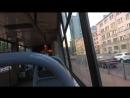 Трамвай, маршрут №38 ЛВС-86К-М б.3455 (28.07.2018) Санкт-Петербург