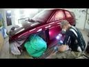 Раскрыт секрет покраски автомобиля в глянец это Полировка Итог покраски ВАЗ 2112