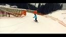 Буковель. Катание на сноуборде.