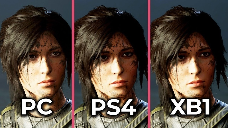 Shadow of the Tomb Raider – PC vs. PS4 vs. Xbox One Frame Rate Test Graphics Comparison