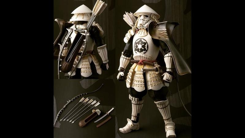Анбоксинг штурмовика самурая