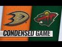 Anaheim Ducks vs Minnesota Wild | Jan.17, 2019 | Game Highlights | NHL 2018/19 | Обзор матча