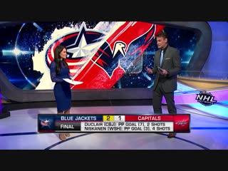 NHL Tonight: Blue Jackets Win Nov 9, 2018