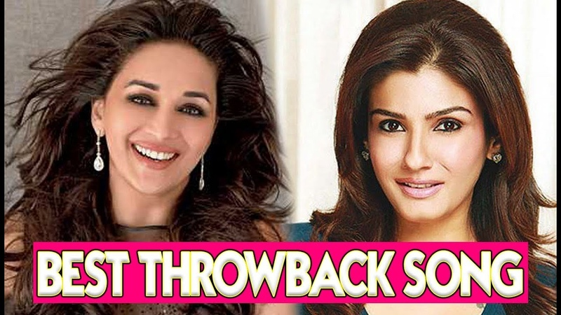 Madhuri Dixit Raveena Tandon Best Throwback Songs mCrazy India