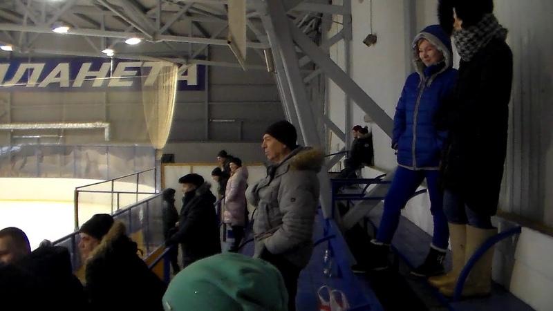 Хоккей в Буе. Планета(Буй)-ХК Шунга(Костромская обл.).2.12.2018. (ч.3)
