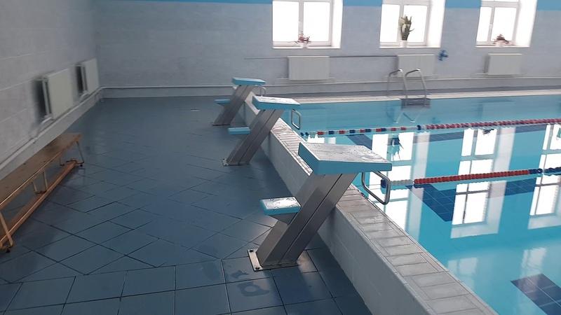 Большой бассейн в спорткомплексе Олимп г. Мстиславль