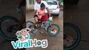 Hilarious Bicycle Buyer's Remorse || ViralHog