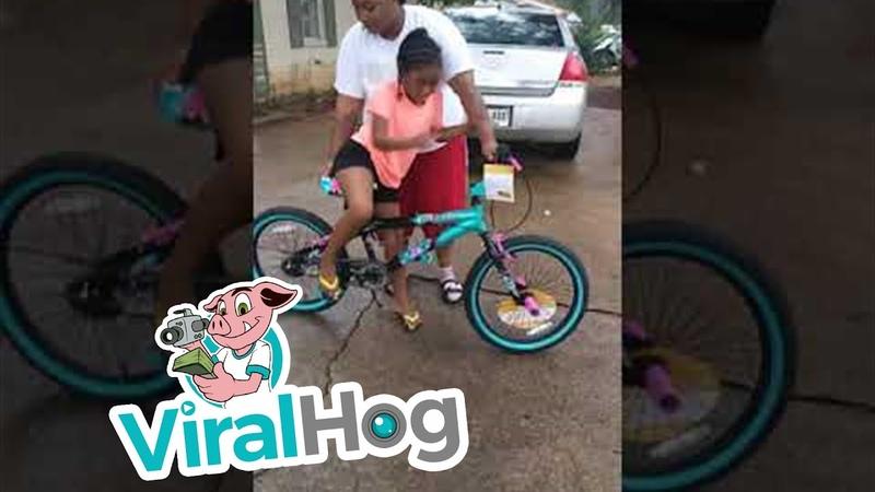 Hilarious Bicycle Buyer's Remorse    ViralHog