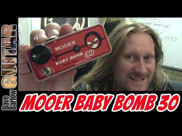 Mooer Baby Bomb 30 Review - 30 Watt Class D Guitar Poweramp