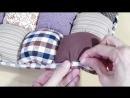 Как сшить объёмный коврик для ребёнка бомбон пузырьковый