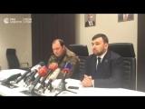 Пресс-конференция после убийства главы ДНР Захарченко