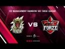 Edenity vs forZe | BO2 | OZ Management Rainbow Six: Siege League | Casters : @Faster