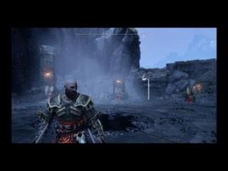 Как победить королеву валькирий Сигрюн God of War How to kill Valkyrie queen Sigrun
