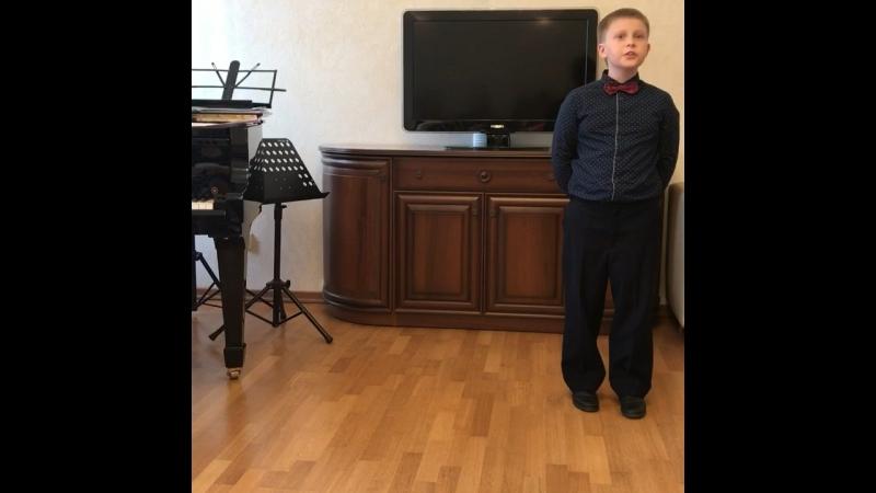 Лев Концерт в Музыкальной школе 22 мая 18