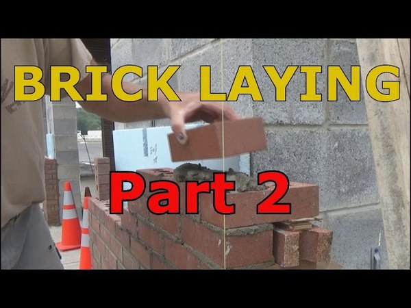 How I lay brick (part 2 of 5) Mike Haduck