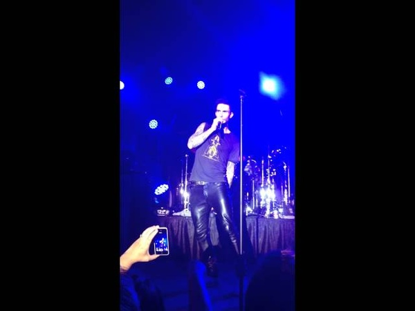 Adam Levine splits his pants and is awesome about it at a private concert.