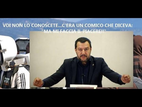 I MIGRANTI CHIEDONO I DANNI AL MINISTRO DEGLI INTERNI MATTEO SALVINI.SIAMO ALLE COMICHE.