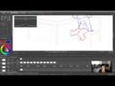 LIVESTREAM 02: Joanna Davidovich Animating