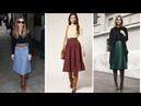 FALDAS LARGAS CON BOTAS 👗 ¡15 Excelentes Ideas Moda Fashion Faldas
