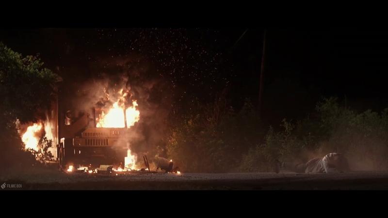 Logan vs X-24 First Fight Logan (2017) Movie Clip