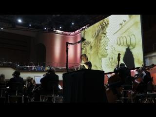 Liszt - Tasso, Lamento e Trionfo с песочным шоу из Москвы для Омской филармонии