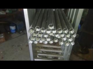 Изготовление ресивера для подводного ружья Vector