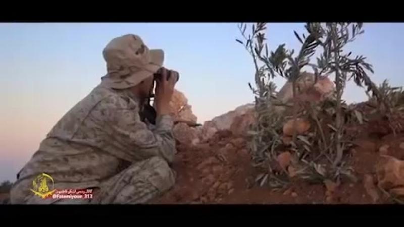 Сирия.Ноябрь 2017. Бойцы афганского шиисткого корпуса «Лива Фатимийюн» в боях против ИГ в Сирии