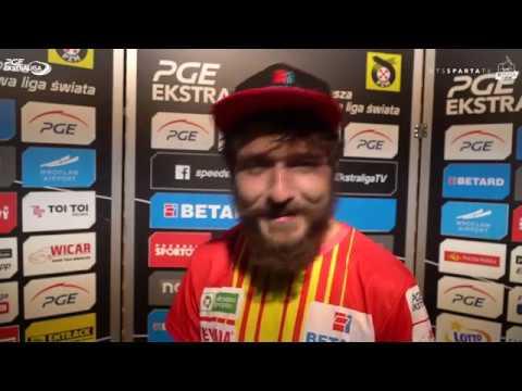 Vaclav Milik podsumowuje mecz ze Stalą... no przynajmniej próbuje
