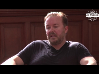 Ricky Gervais | Full Q&A | Oxford Union (2017) [AllStandUp | Озвучка]