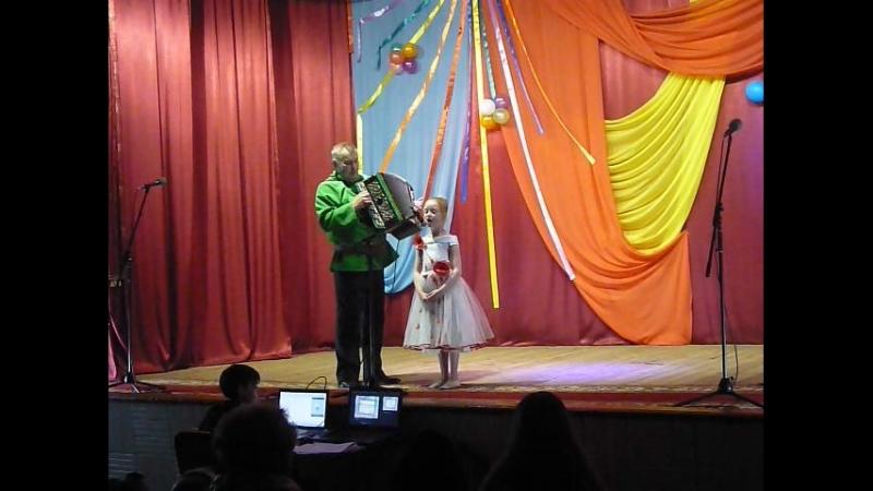 Марина на сцене ДК