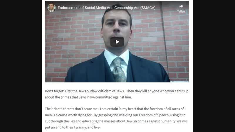 Endorsement of Social Media Anti-Censorship Act (SMACA)