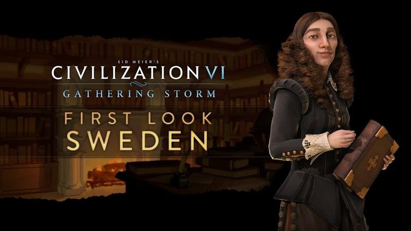 Civilization VI Gathering Storm - новая фракция «Швеция»