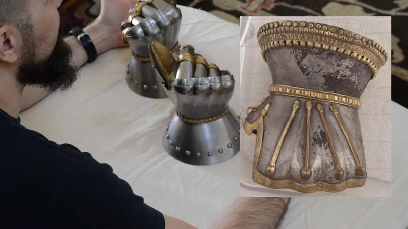 обзор латных перчаток (песочные часы)