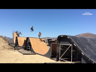 Best of Nitro Circus _ Extreme BMX, Skateboard, Big Air Stunt
