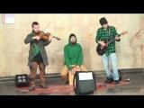 Alttoronado - One Of Us cover (Joan Osborne). Музыка в метро