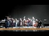 Приглашение на шоу «Классика в темноте» от Synergy Orchestra // Москва, Crocus City Hall