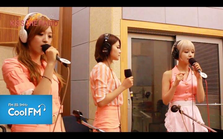 AOA 에이오에이 '단발머리' 라이브 LIVE / 140705[슈퍼주니어의 키스 더 라디오]