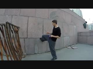 Туториал по элементу Тик-так  Tic tac parkour tutorial (English subtitle)