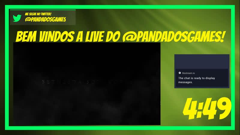 Hey ho lets go! Live do @Pandadosgames com tempero de salzinho do choro alheio