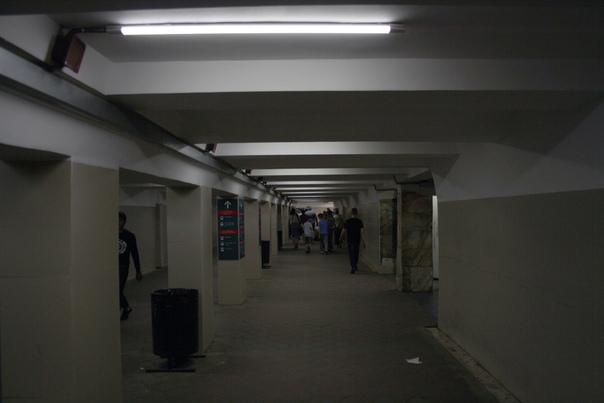 Облицевали подземный переход.  21 августа 2018